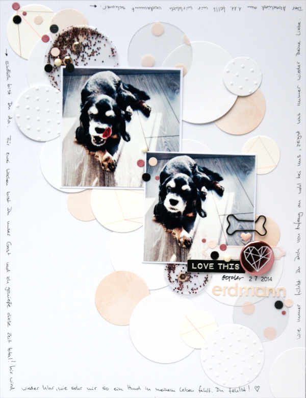 copperandgold.de | ines | scrapbooking layout | erdmann