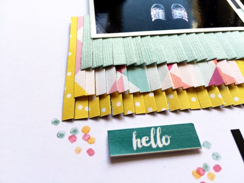 copperandgold.de | ines | scrapbooking layout | hello jack white