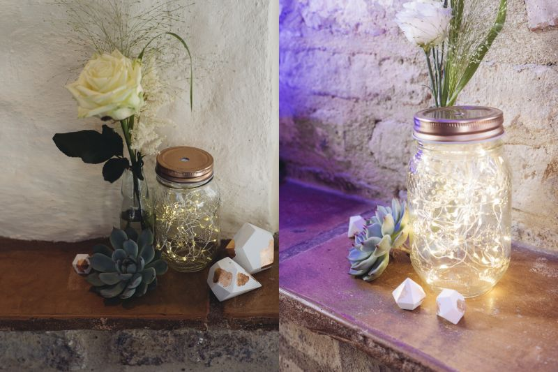 copperandgold.de | ines | wedding decoration . copper and blue