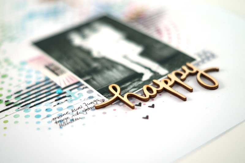 color conspiracy #scrapbooking #layout
