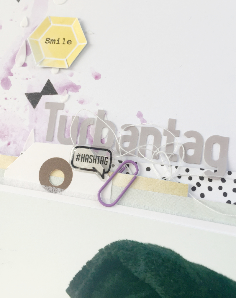 www.copperandgold.de | eri | scrapbooking layout . turbantag