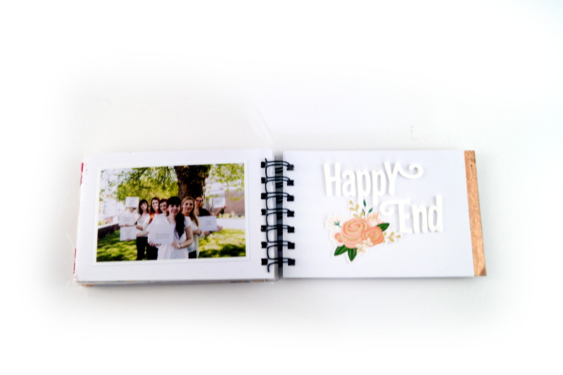 www.copperandgold,de | eri | minialbum bridal shower