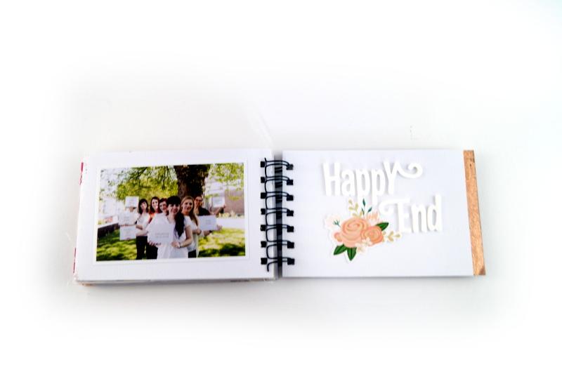 www.copperandgold,de   eri   minialbum bridal shower