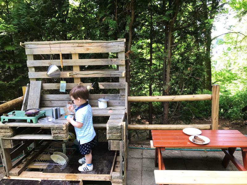 Outdoor Küche Europalette : One pin per month diy matschküche